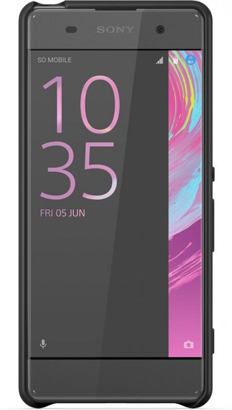 Pouzdra a kryty Sony zadní kryt pro Sony Xperia XA, černá