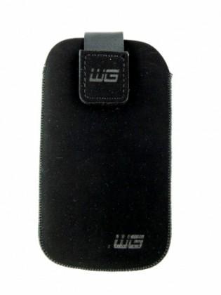 Pouzdra a kryty Univerzální pouzdro pro telefon, malé, vsuvka, černá