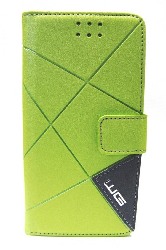 """Pouzdra a kryty Univerzální pouzdro pro telefon WG Cross Unibook 5,3"""", zelená"""