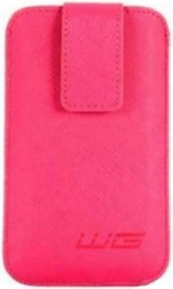 Pouzdra a kryty Univerzální pouzdro pro telefon WG Pure,vsuvka, 80x140mm, růžová
