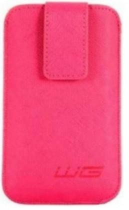 Pouzdra a kryty Univerzální pouzdro pro telefon WG Pure,vsuvka, 88x158mm, růžová
