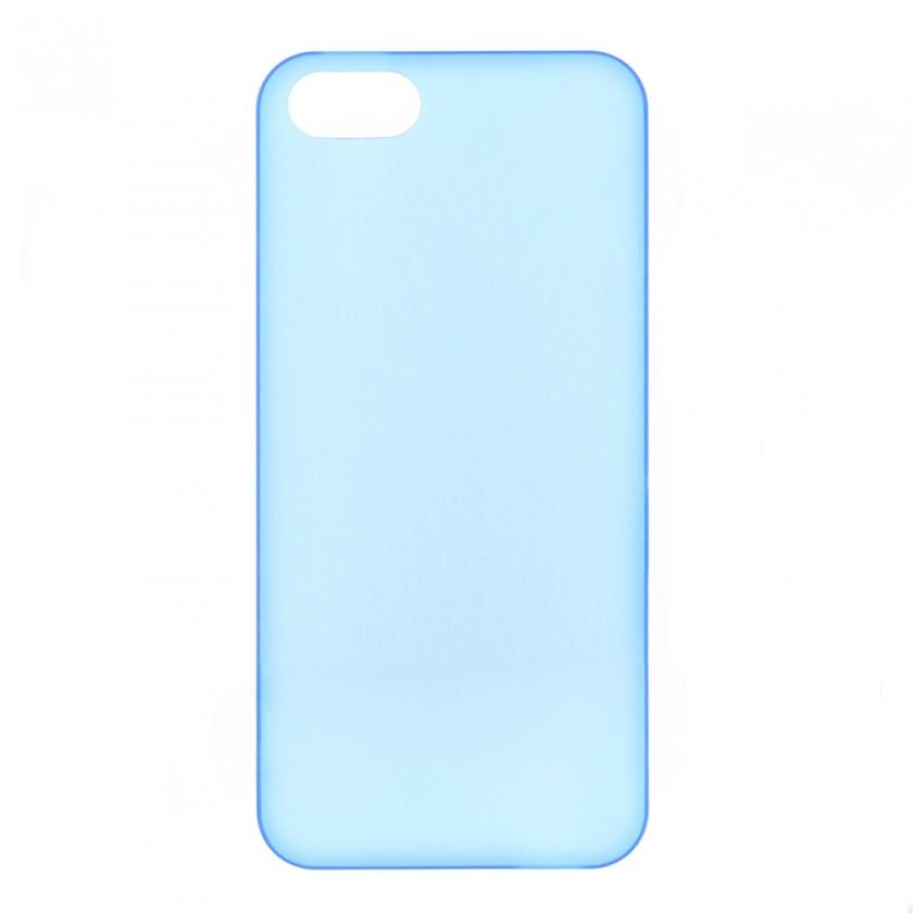 Pouzdra a kryty Winner Group gelskin + fólie pro iPhone 5, modrá