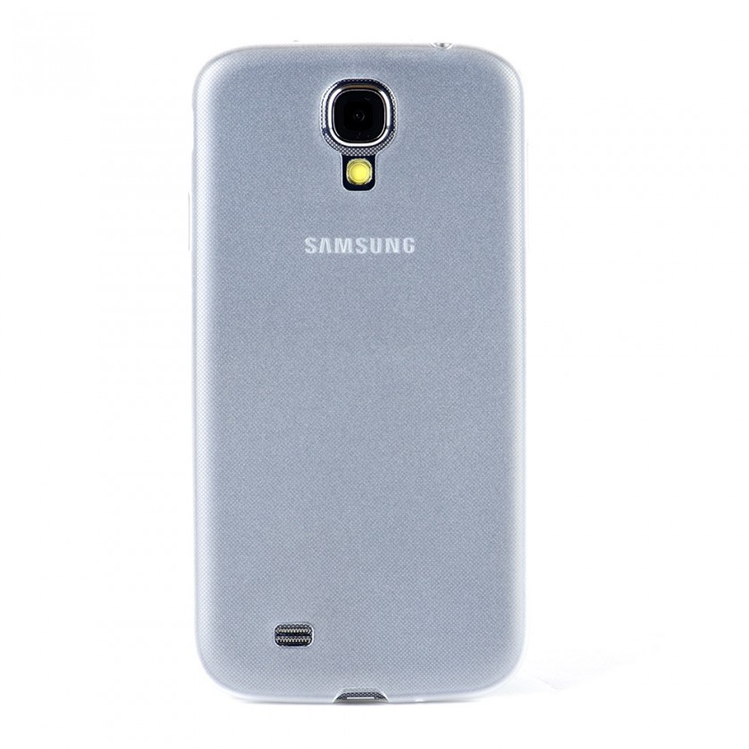 Pouzdra a kryty Winner Group gelskin + fólie pro Sam Galaxy S4, bílá