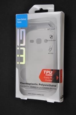 Pouzdra a kryty Winner Group gelskin + fólie pro Sony Xperia E, transparentní