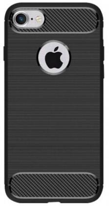 Pouzdra a kryty Zadní kryt pro Apple iPhone 7/8, karbon, černá
