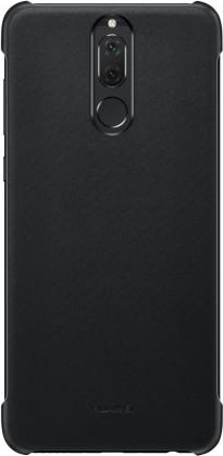Pouzdra a kryty Zadní kryt pro Huawei Mate 10 Lite, imitace kůže, černá