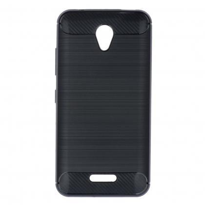 Pouzdra a kryty Zadní kryt pro Huawei P10, carbon, černá
