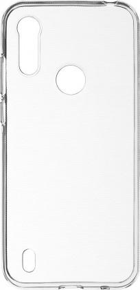 Pouzdra a kryty Zadní kryt pro Motorola E6s, Slim, průhledná