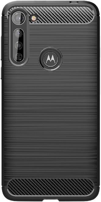 Pouzdra a kryty Zadní kryt pro Motorola Moto G8 Power Lite, Carbon, černá