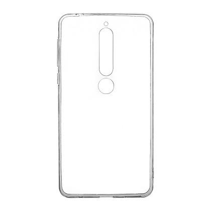 Pouzdra a kryty Zadní kryt pro Nokia 6 2018, průhledná