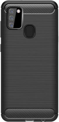 Pouzdra a kryty Zadní kryt pro Samsung Galaxy A21s, Carbon, černá