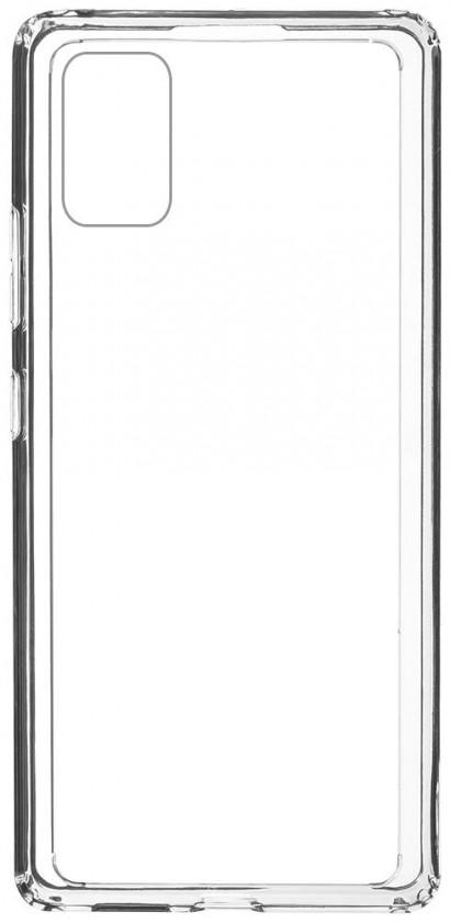 Pouzdra a kryty Zadní kryt pro Samsung Galaxy A41, Comfort, průhledná