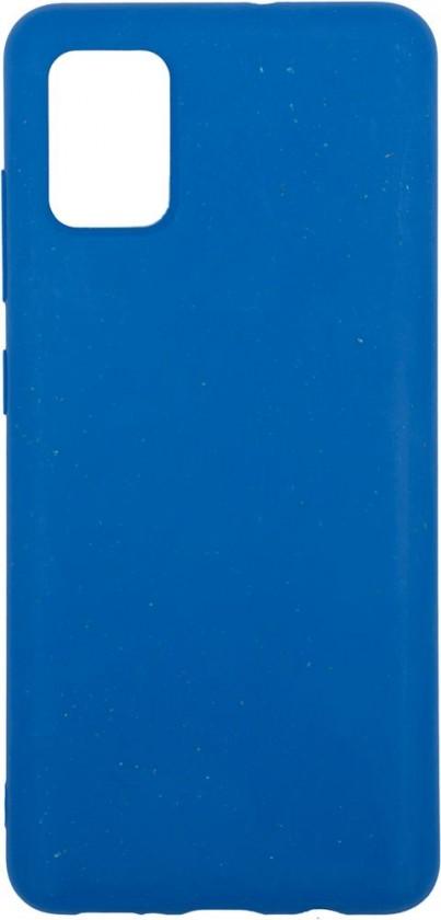 Pouzdra a kryty Zadní kryt pro Samsung Galaxy A51, ECO 100% compostable, modrá