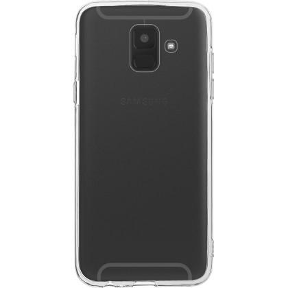 Pouzdra a kryty Zadní kryt pro Samsung Galaxy A6 Plus 2018, Slim, průhledná