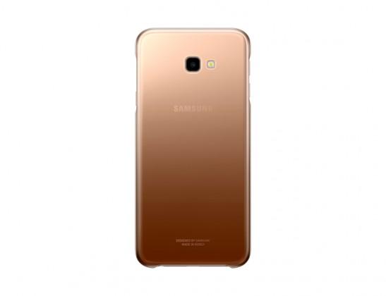 Pouzdra a kryty Zadní kryt pro Samsung Galaxy J4 PLUS, zlatá