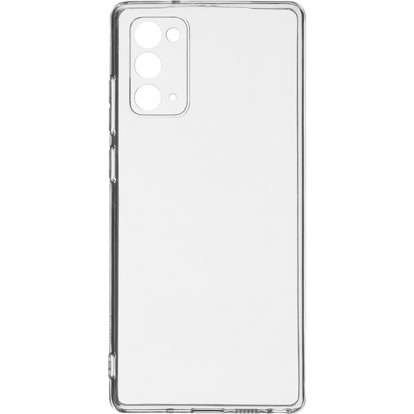 Pouzdra a kryty Zadní kryt pro Samsung Galaxy Note 20, Slim, průhledná