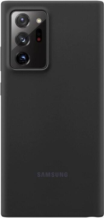 Pouzdra a kryty Zadní kryt pro Samsung Galaxy Note 20 Ultra, silikon, černá