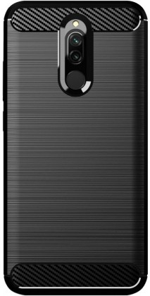 Pouzdra a kryty Zadní kryt pro Xiaomi Redmi 8, Carbon, černá