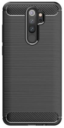 Pouzdra a kryty Zadní kryt pro Xiaomi Redmi 9, Carbon, černá