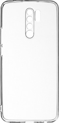 Pouzdra a kryty Zadní kryt pro Xiaomi Redmi 9, Slim, průhledná