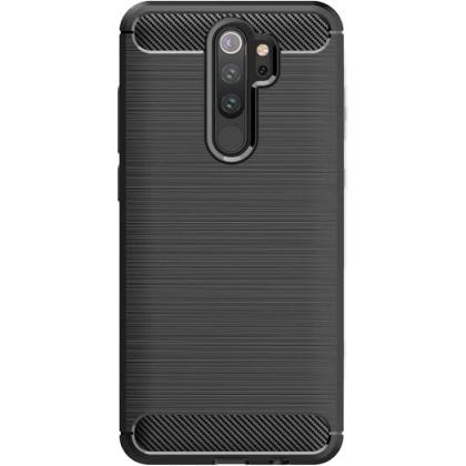 Pouzdra a kryty Zadní kryt pro Xiaomi Redmi Note 8 Pro, Carbon, černá