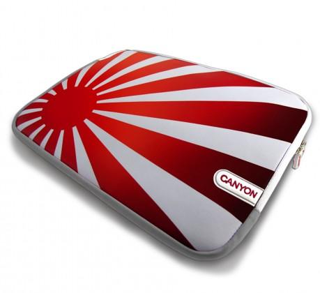 """Pouzdra CANYON skin, na notebooky do 15.6"""", Rising Sun edition"""