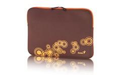 """Pouzdra GENIUS GS-1401, pouzdro na 13-14"""" notebook, Brown/Orange"""