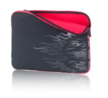 "Pouzdra GENIUS GS-1500, pouzdro na 15-16"" notebook, Black/Red"