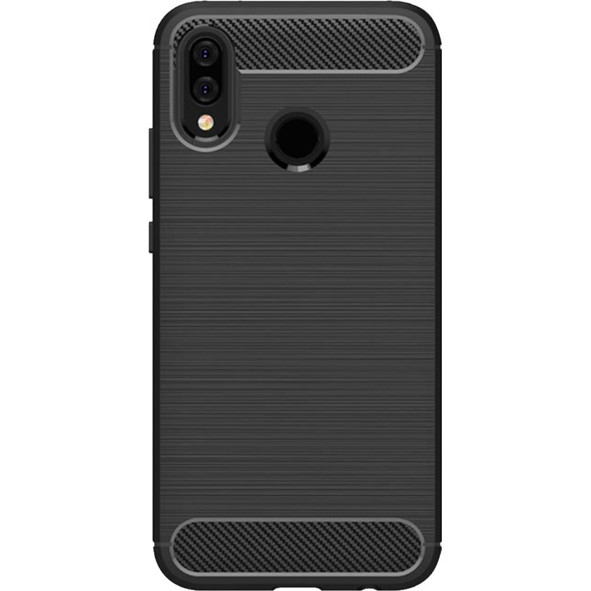 Pouzdra Honor Zadní kryt pro Honor 10 Lite/Huawei PSmart 2019, karbon, černá
