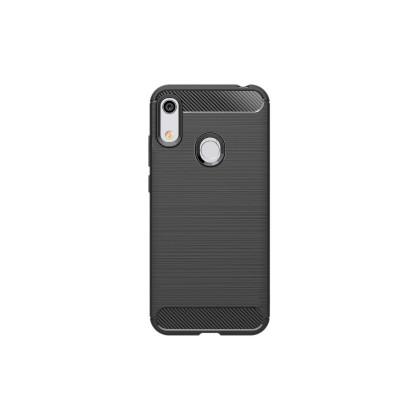 Pouzdra Honor Zadní kryt pro Honor 8A/Huawei Y6S, karbon, černá