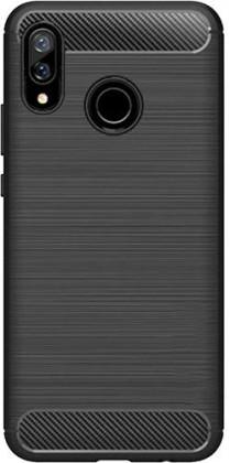 Pouzdra Huawei Zadní kryt pro Huawei NOVA 3, karbon, černá