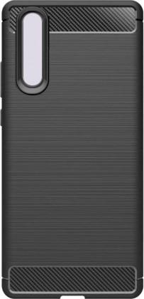 Pouzdra Huawei Zadní kryt pro Huawei P30, karbon, černá