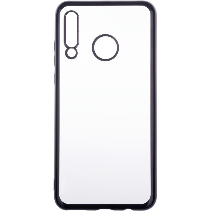 Pouzdra Huawei Zadní kryt pro Huawei P30 Lite, průhledná/černá