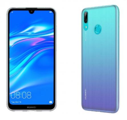 Pouzdra Huawei Zadní kryt pro Huawei Y7 2019, průhledná