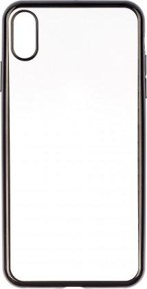 Pouzdra iPhone Zadní kryt Apple iPhone X/XS, průhledná/černá