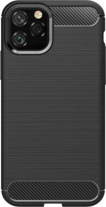 Pouzdra iPhone Zadní kryt pro Apple iPhone 11 Pro Max, karbon, černá