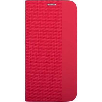 Pouzdra na Xiaomi Pouzdro pro Xiaomi Redmi 9, Flipbook Duet, červená