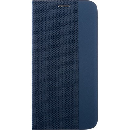 Pouzdra na Xiaomi Pouzdro pro Xiaomi Redmi Note 8 Pro, Flipbook Duet, tmavě modrá