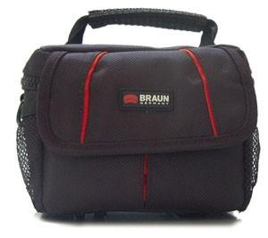 Pouzdra, obaly Braun Brašna Asmara Compact 300, černá