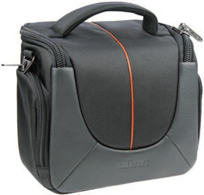 Pouzdra, obaly Doerr Yuma Photo Bag XL black/orange
