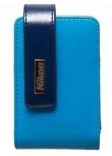 Pouzdra, obaly Nikon Pouzdro CS-S30 modré pro S3100-4300