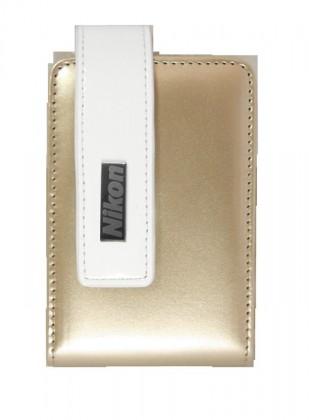 Pouzdra, obaly Nikon Pouzdro CS-S43 zlatavé pro S3100-4300