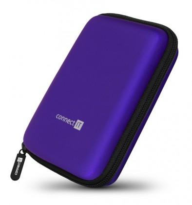 "Pouzdra pro HDD Pevné ochranné pouzdro na 2,5"" HDD Connect IT CFF5000BL, modré"