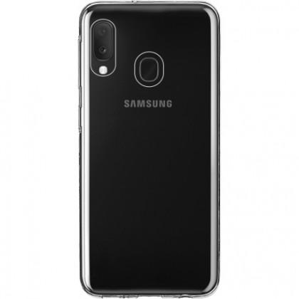 Pouzdra Samsung Zadní kryt pro Samsung A20e, Slim, průhledná