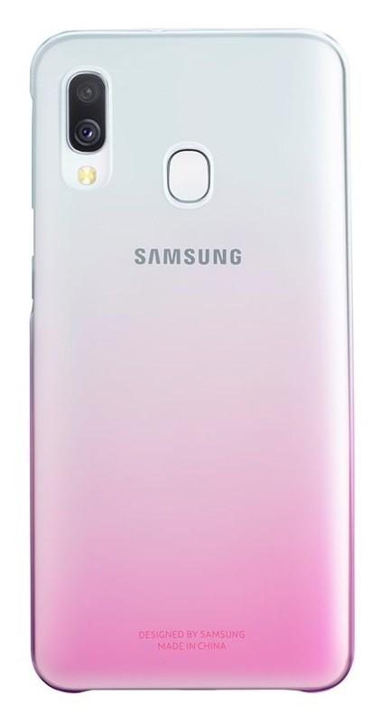 Pouzdra Samsung Zadní kryt pro Samsung Galaxy A40, Gradation, růžová