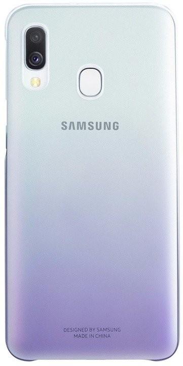 Pouzdra Samsung Zadní kryt pro Samsung Galaxy A40, Gradiation, fialová