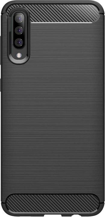 Pouzdra Samsung Zadní kryt pro Samsung Galaxy A50, karbon, černá