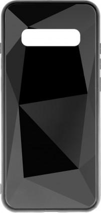 Pouzdra Samsung Zadní kryt pro Samsung Galaxy S10, 3D prismatic, černá