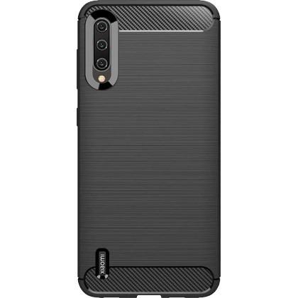 Pouzdra Xiaomi Zadní kryt pro Xiaomi Mi A3, karbon, černá