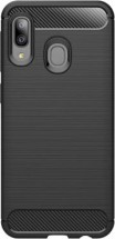 Pouzdro Carbon Samsung A20e, černá
